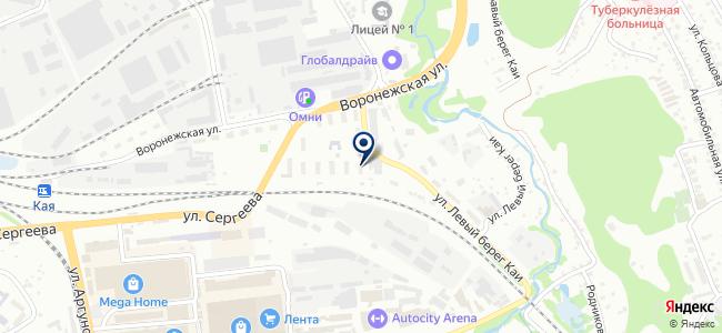 Линия Горизонта, ООО на карте