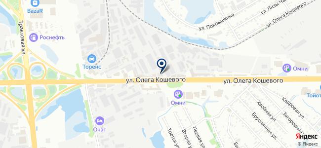 Лесотехника на карте