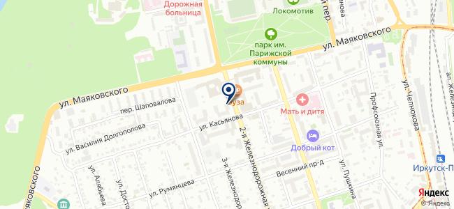 Желдорохрана на карте