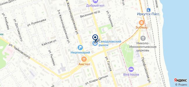 БензоЭлектроБыт на карте