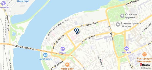 Энерпром-Электроникс, ЗАО на карте