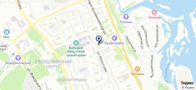 Сиброн на карте