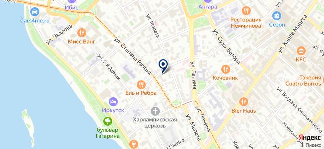 Инструменты-Иркутск на карте