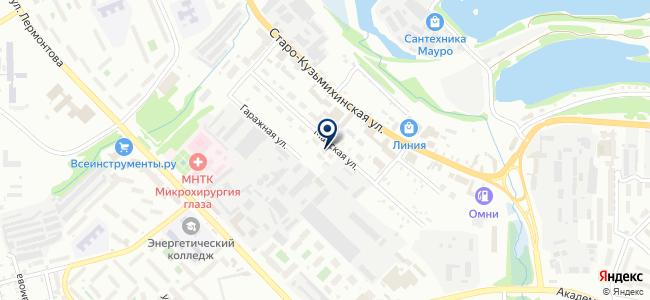 Город Иркутск, ООО на карте