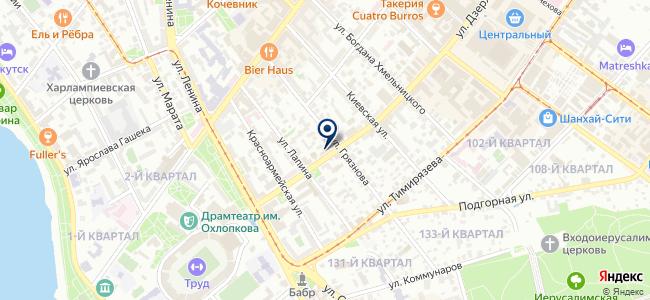 Ивэра+ на карте