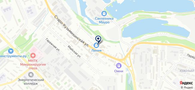 Электрон+ на карте