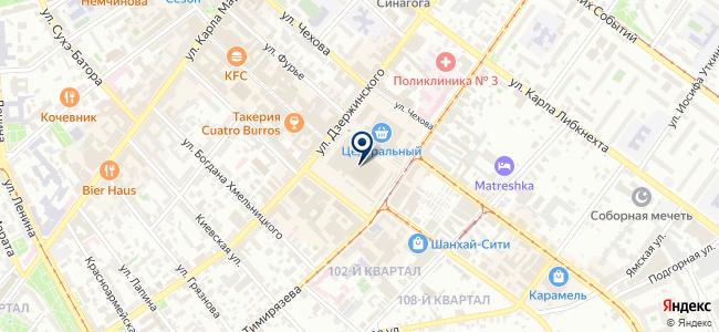 Кордсиб на карте