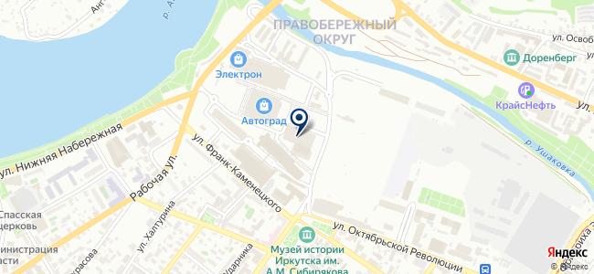 Магазин часов и электроники на карте