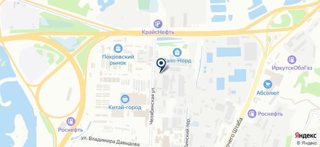 Электрон, ООО на карте