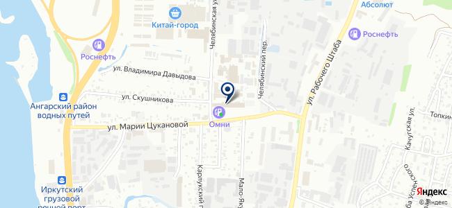 Теплолюкс-Иркутск, ООО на карте