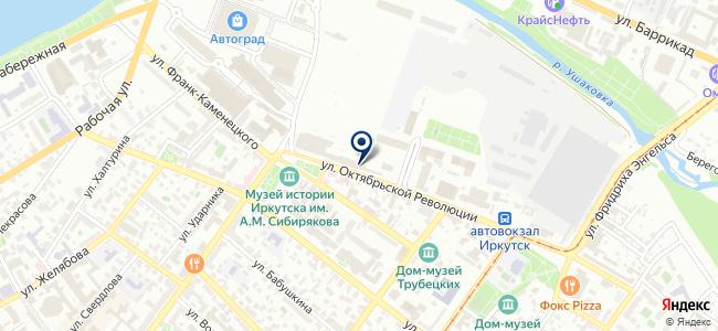 Прогресс, ООО на карте