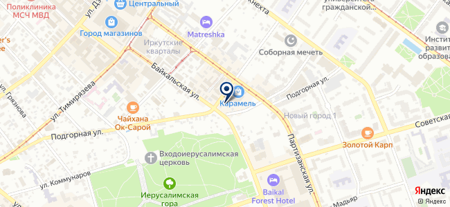 БайкалЭнергоСервис, ООО на карте