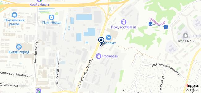 АВК-Инструмент на карте