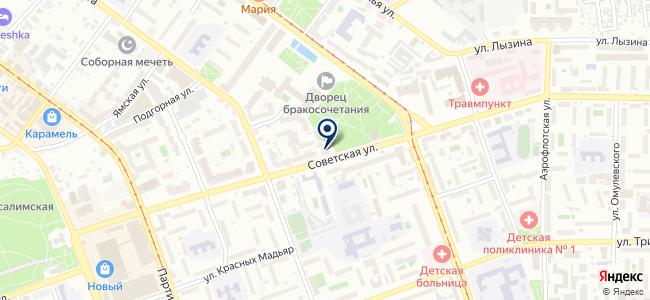 Наладчик, ООО на карте