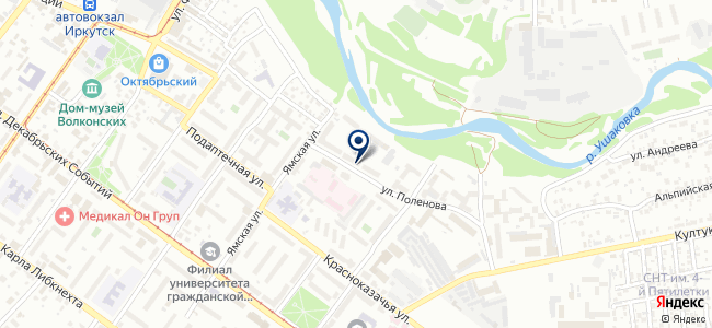 Форус на карте