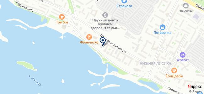 Максима на карте