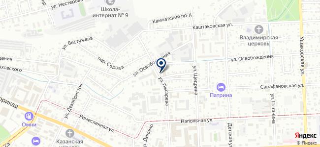 Компания Текон, ООО на карте