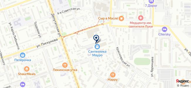 Дворецкий на карте