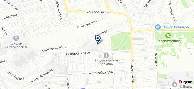 Ремонтно-монтажный комбинат Иркутского облпотребсоюза, ООО на карте