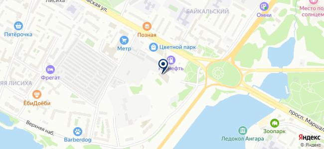 Компания сетевых решений на карте