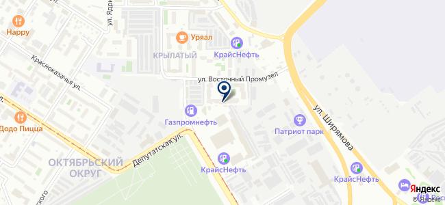 Крепость, ООО на карте