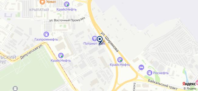 Востоксибэлектромонтаж, ОАО на карте