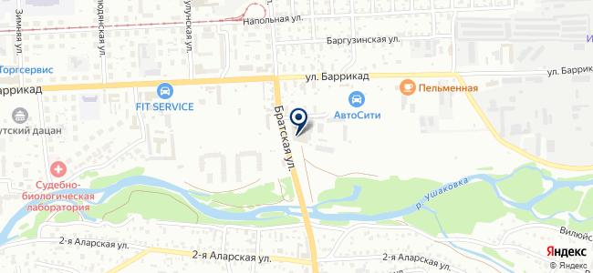 ИРКУТСКИЙ СВЕТ+ на карте