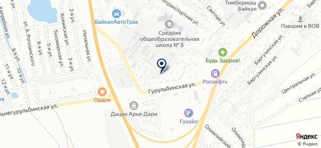 Забайкалводавтоматика, ЗАО на карте