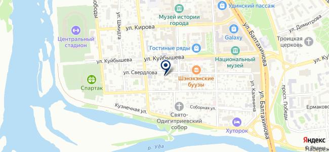 Тамир, ООО на карте