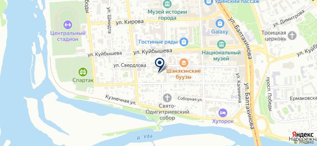 Республиканская эксплуатационная компания, ООО на карте