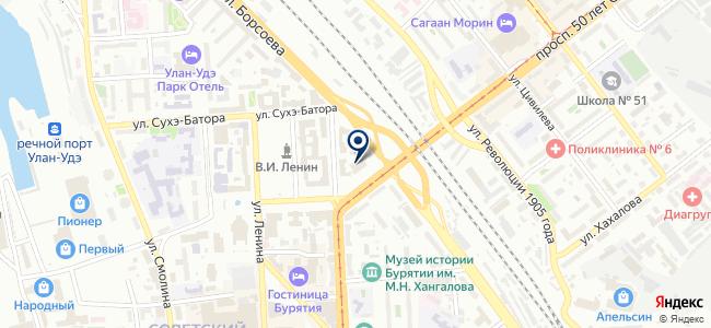 Натяжные потолки МИРа на карте