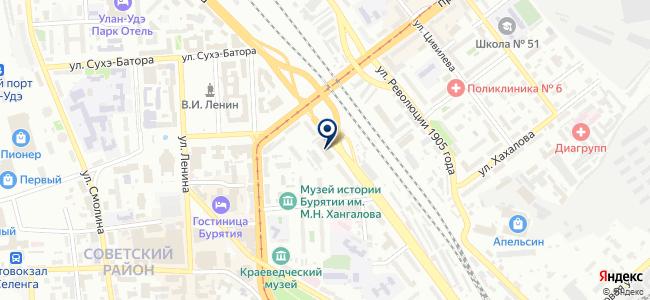 АРТХАУС на карте
