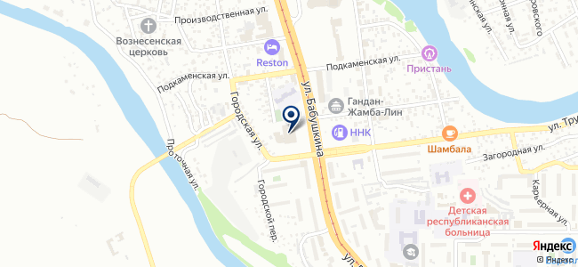 Сибирь-Тендер на карте