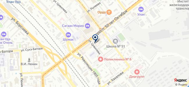 Ремакстел, ООО на карте