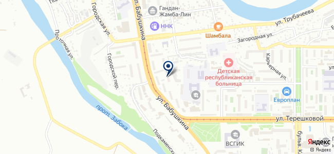 Экострой Улан-Удэ, ООО на карте