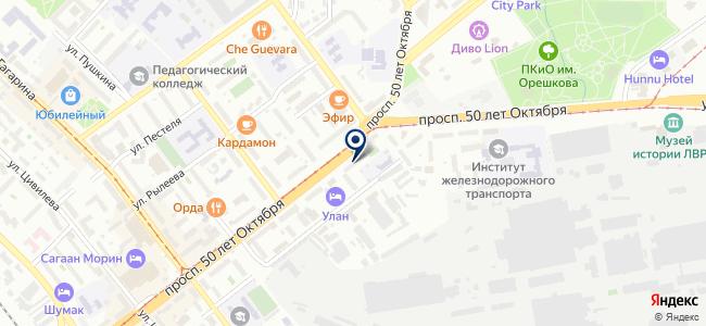 Led city на карте