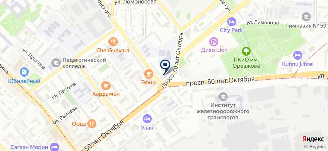 SotAc на карте