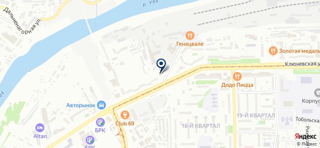 Вектор, ООО на карте