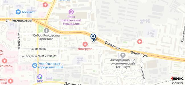Потолок Мастер, ООО на карте