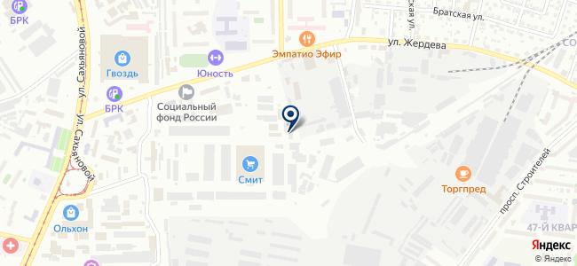 Engine-M на карте