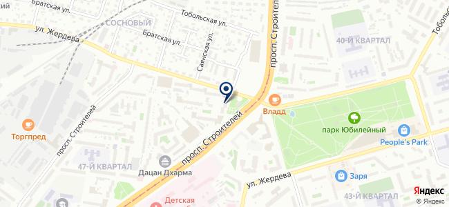 Теплосиб, ООО на карте