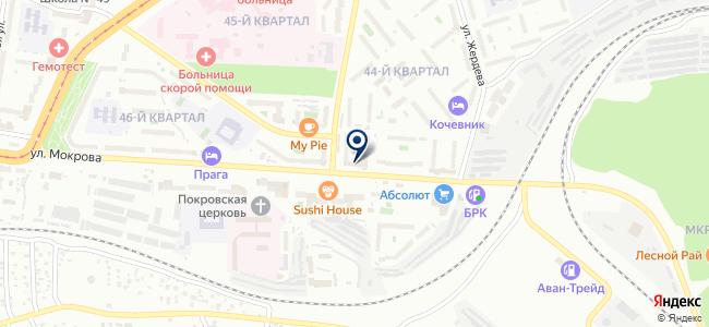 Аттик-строй на карте