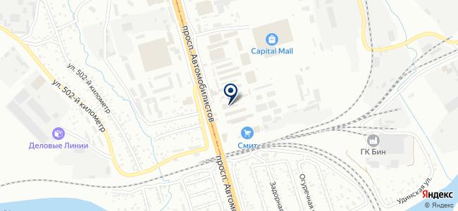 Центр крепежных изделий на карте