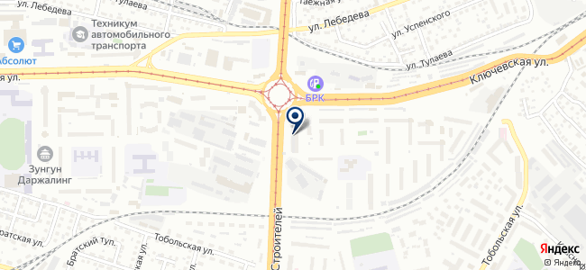Единая городская служба услуг на карте