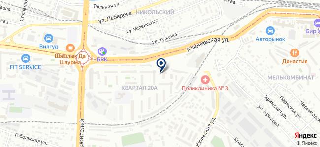 Омега, ООО на карте