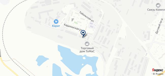 Читаглавснаб, ОАО на карте