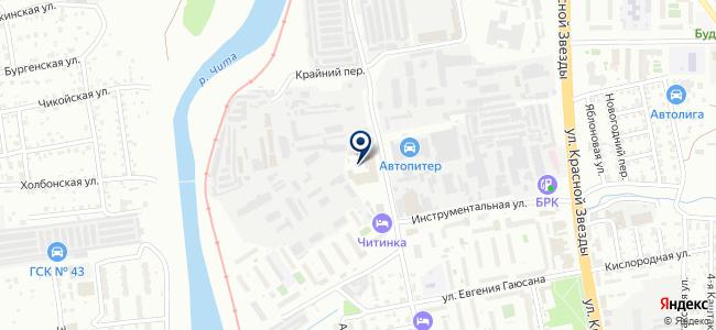 КомплексПром на карте