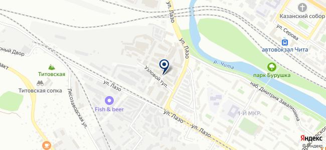 Домовёнок на карте
