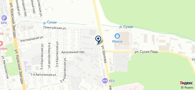 Авто Макс на карте