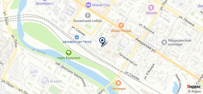Даурия-Строй, ООО на карте